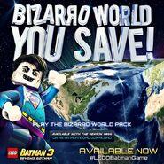 LEGO Batman 3 Bizarro World Pack Bizarro