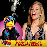 The LEGO Movie Bday Elizabeth Banks