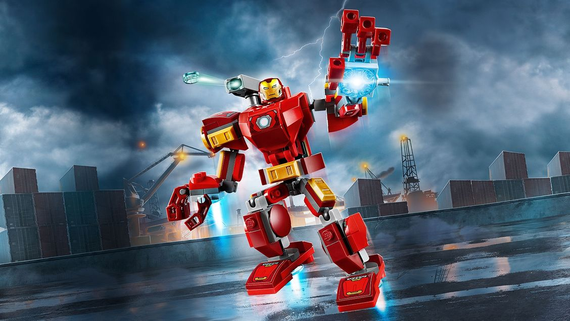 76140 Le robot d'Iron Man