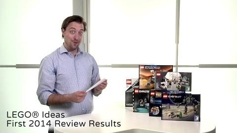 LEGO Ideas First 2014 Review Results Announcing LEGO Ideas 009 and 010