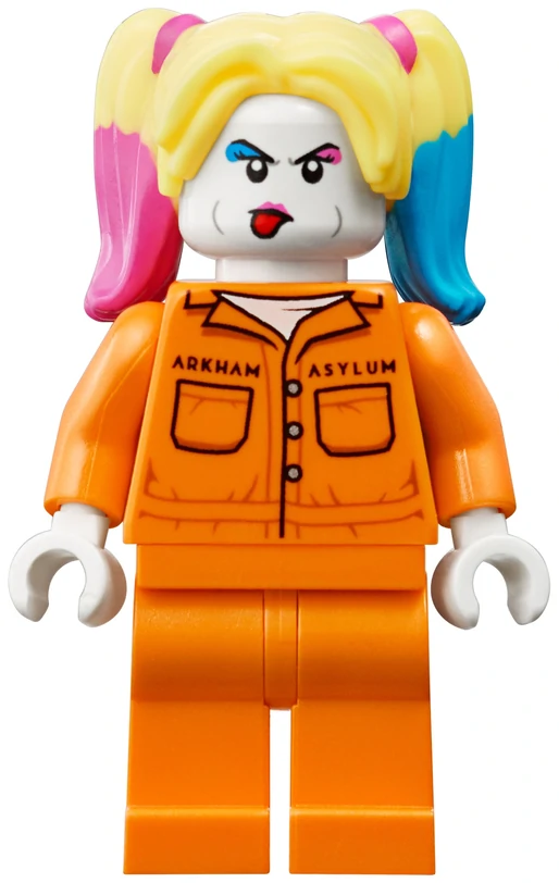 LEGO NEW MAGIC SHOW MINIFIGURE W// GUY TRAPPED IN CHAINED BOX AND RABBIT MAGICIAN