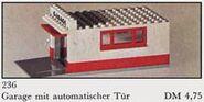 236-Garage with Automatic Door (Gray base and door frame)