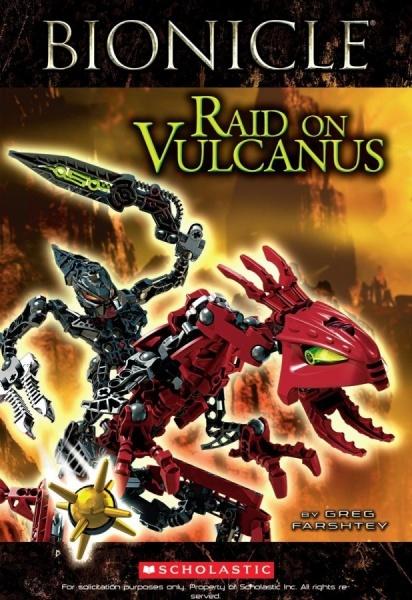 BIONICLE: Raid on Vulcanus