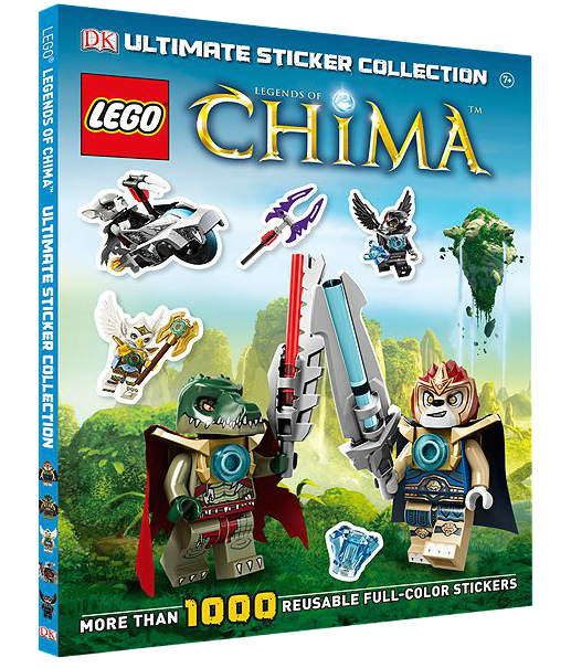 5002820 LEGO Legends of Chima: Ultimate Sticker Collection