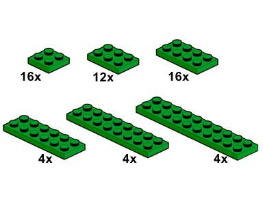 10059 Green Plates