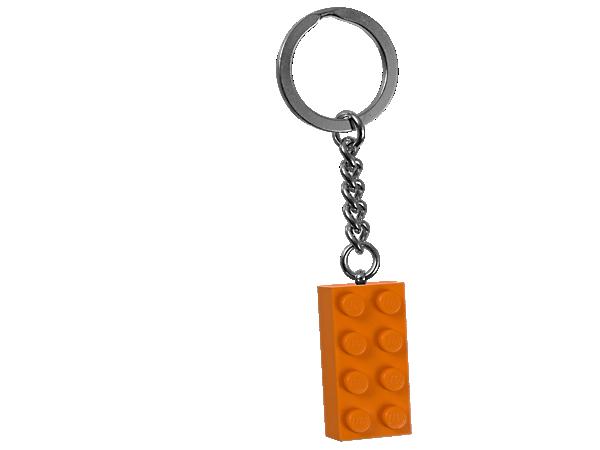 852097 Porte-clés Brique orange