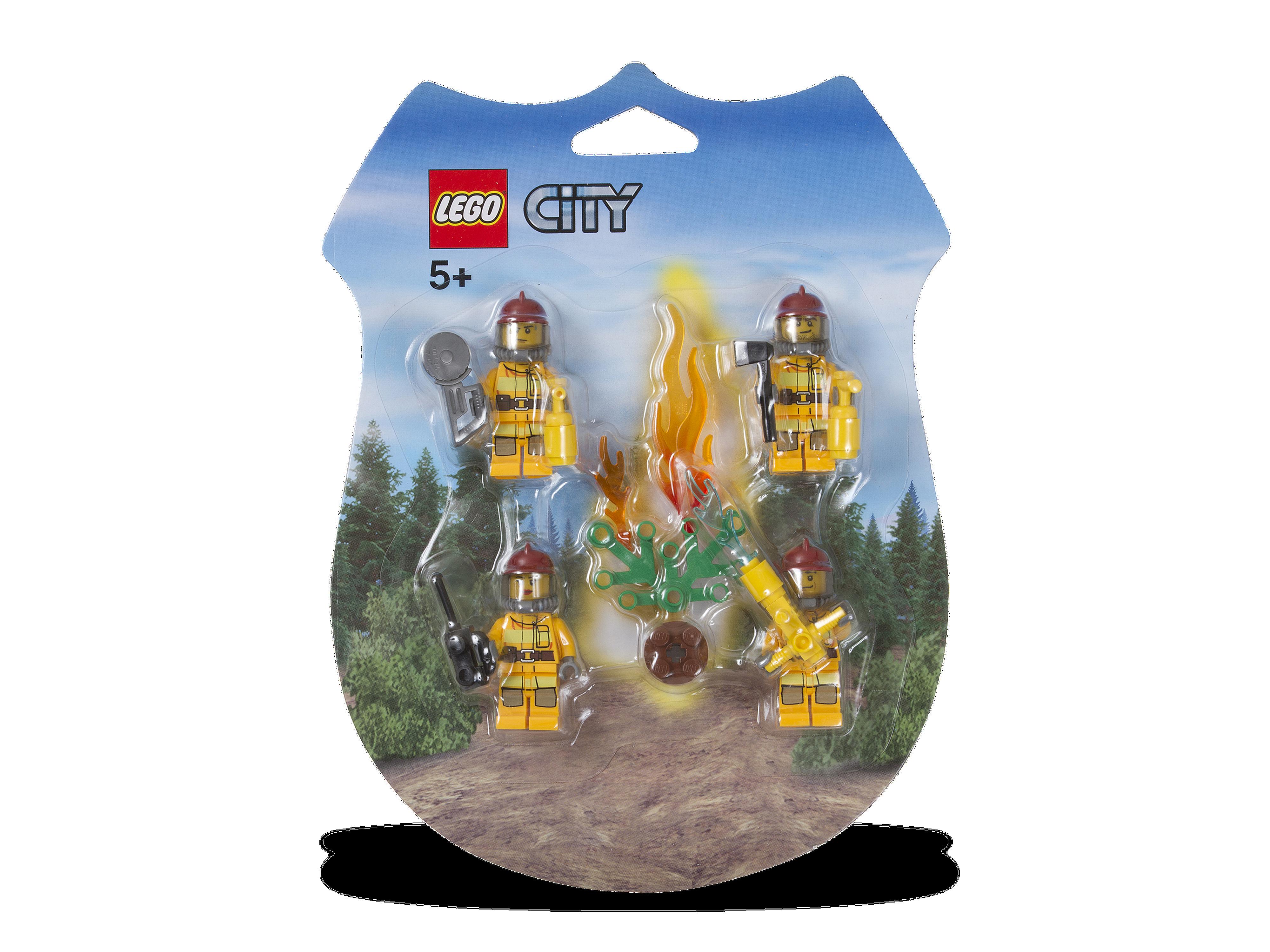 853378 Firemen Minifigure Pack