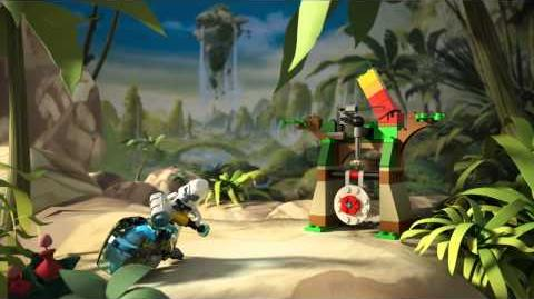 LEGO Chima - 70110 Gorilí skok