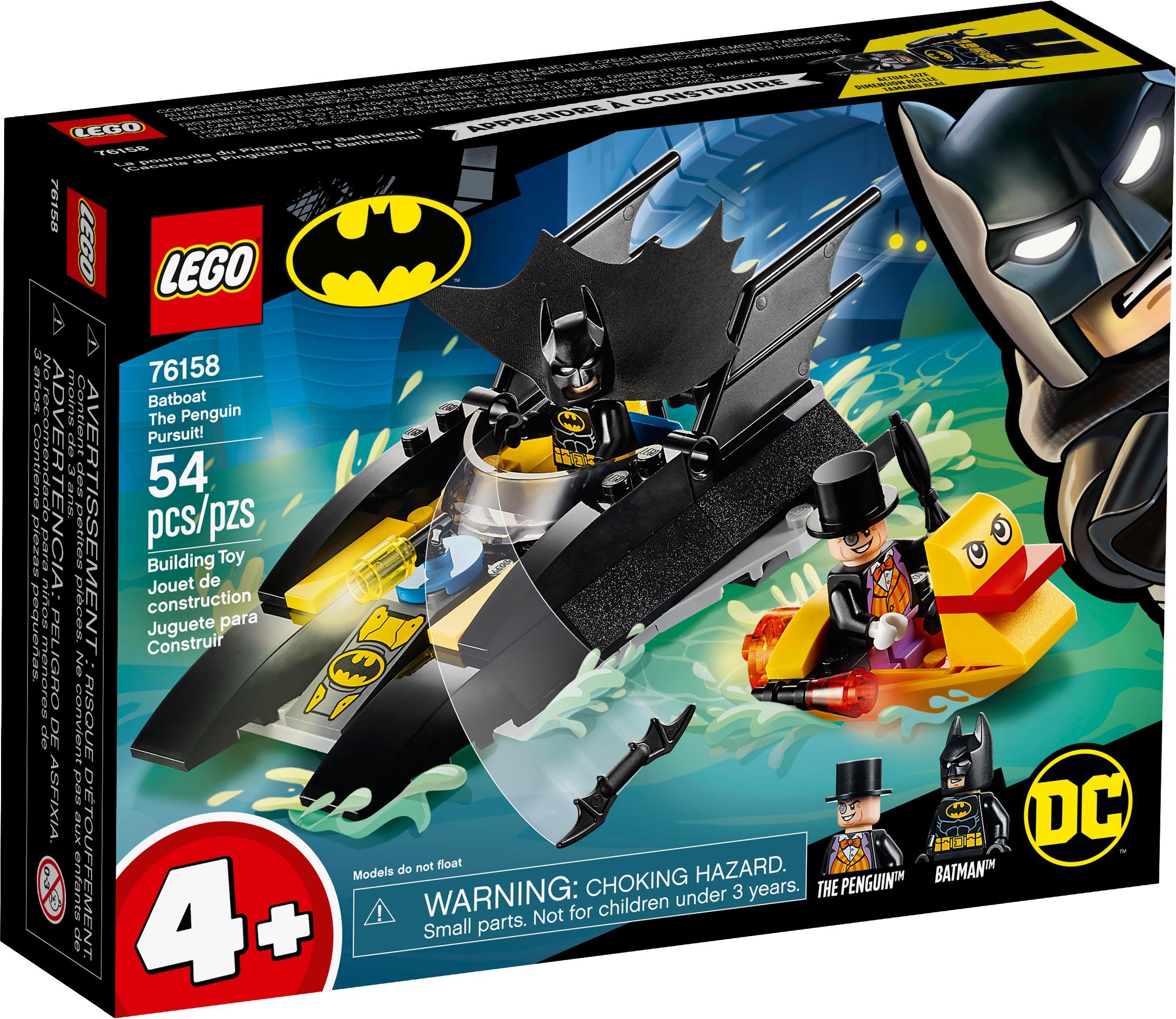 76158 Batboat The Penguin Pursuit