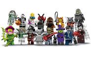 71010 Minifigures Série 14 - Les monstres