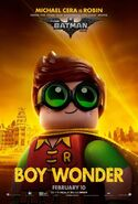 The LEGO Batman Movie Poster Personnage Robin