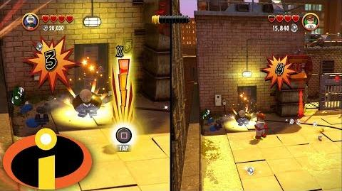 """LEGO The Incredibles 2 - Full Co-Op Level """"The Golden Years"""""""