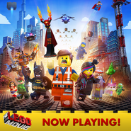 The LEGO Movie Now playing