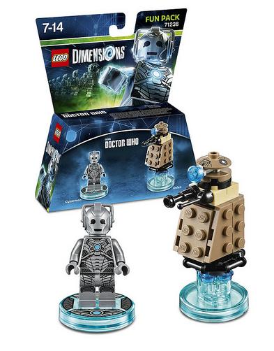 71238 Doctor Who Cyberman Fun Pack