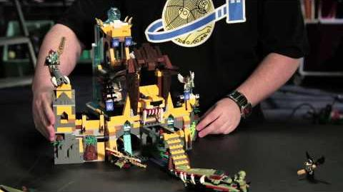 LEGO CHIMA - Designer Movies Lion Chi Temple