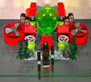 Brickmaster Atlantis - Bohrstation draufsicht I
