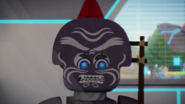 Garmadon mask in Nexo Knights