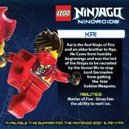 LEGO Ninjago Nindroids Kai
