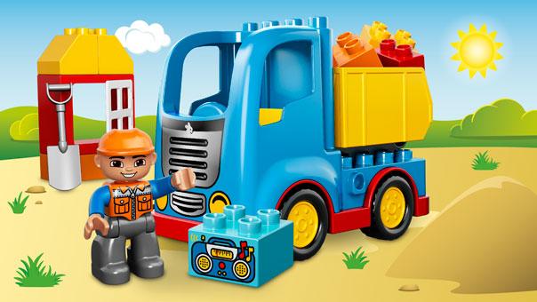 10529 Le camion de chantier