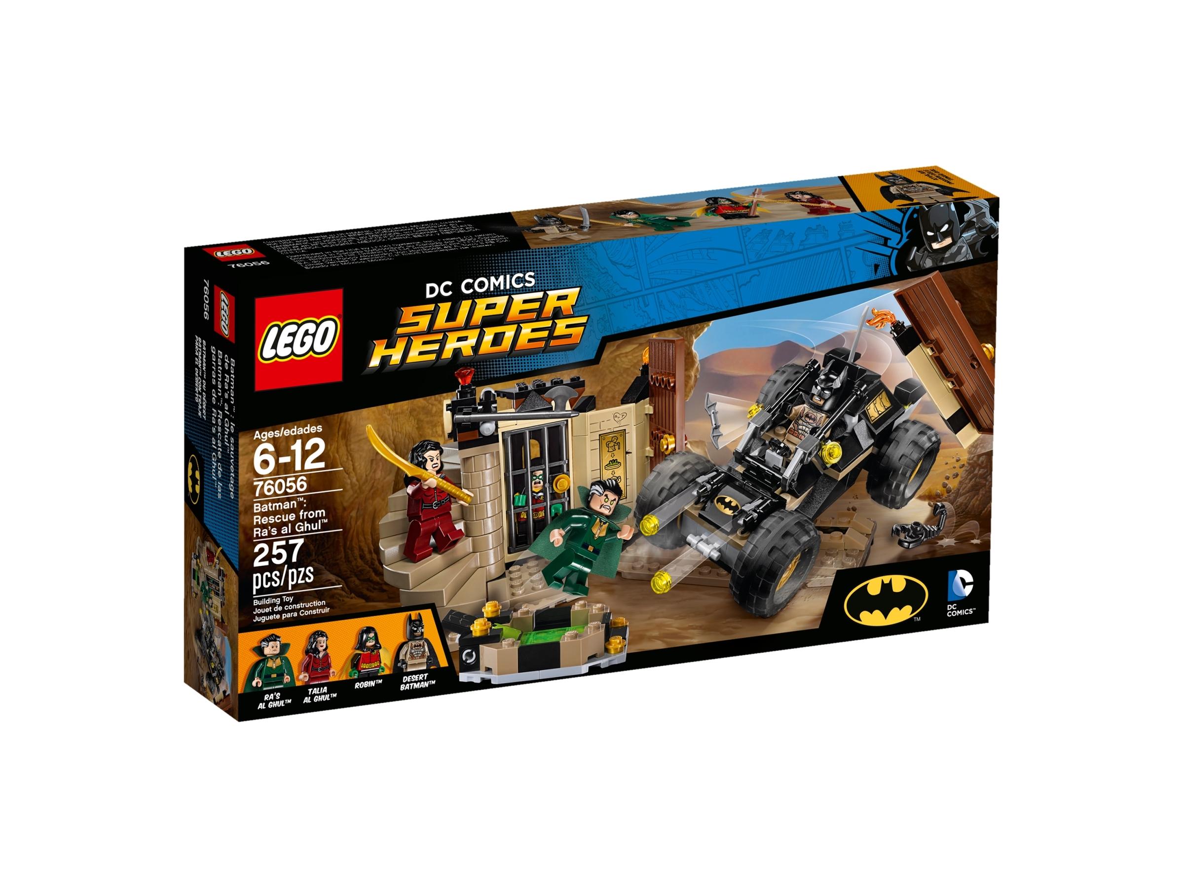 76056 Batman: Rescue from Ra's al Ghul