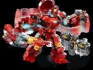 76164 Iron Man Hulkbuster contre un agent de l'A.I.M. 4