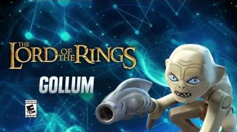 Character Spotlight Gollum LEGO Dimensions