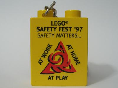 LEGO Safety Fest Key Chain