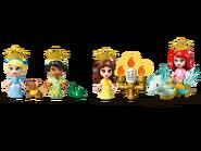 43193 Les aventures d'Ariel, Belle, Cendrillon et Tiana dans un livre de contes 6