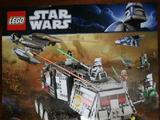 Star Wars Clone Wars Poster, Clone Turbo Tank