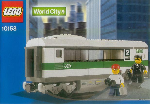 10158 High Speed Train Car