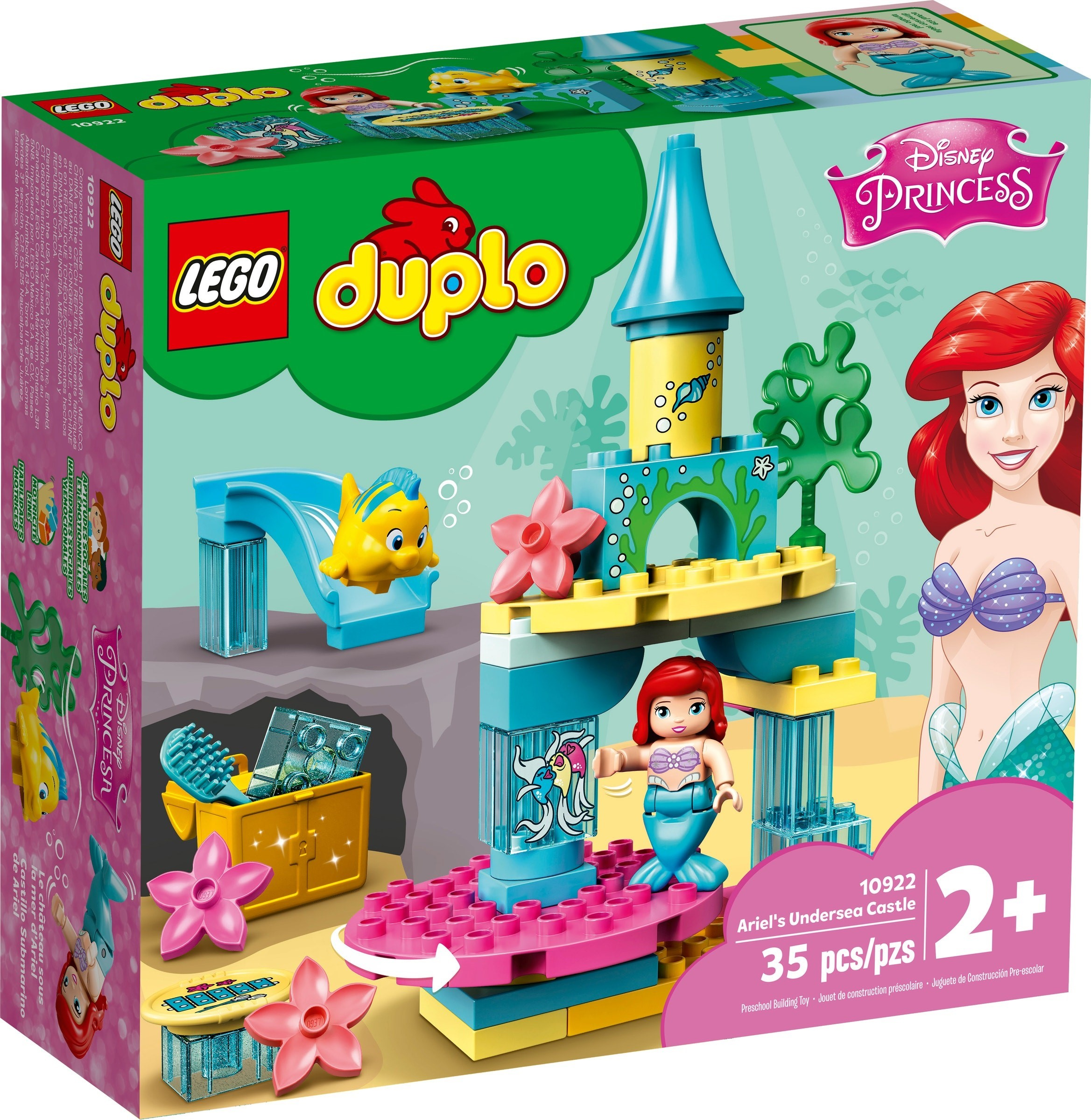 10922 Ariel's Undersea Castle