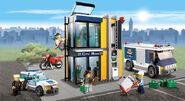 Lego city bank 2011