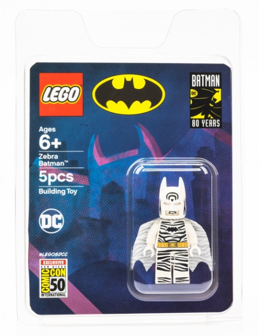 Comic-Con Exclusive Zebra Batman Giveaway