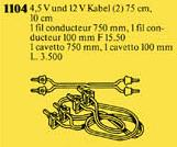 1104 Battery Cables