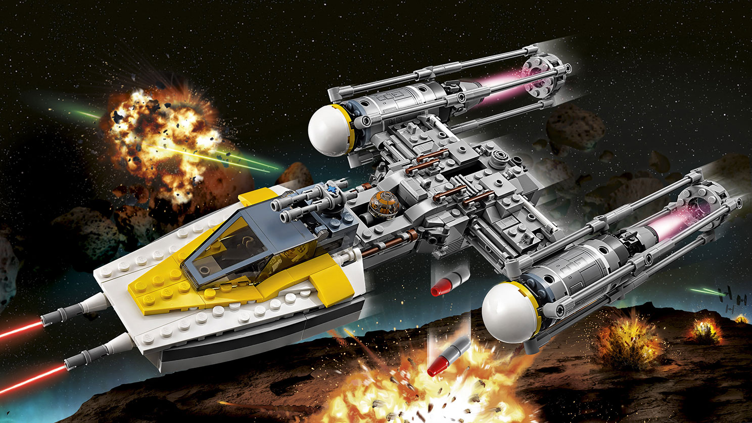 75172 Y-wing Starfighter