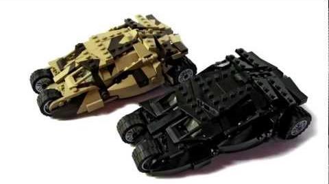 Custom LEGO Batmobile Tumbler for CUUSOO
