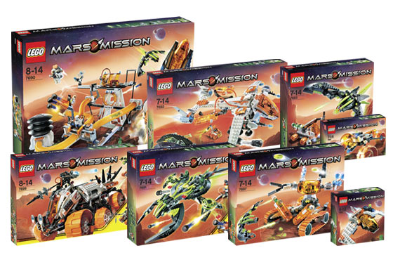 K7699 Complete Mars Mission Collection