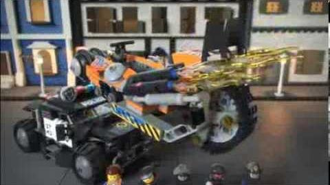 The Lego Movie 70808 Super Cycle Chase Lego 3D Review