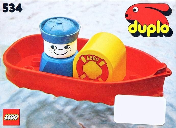 534 Tub Boat