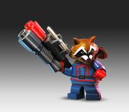 Lego rocket racoon