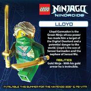 LEGO Ninjago Nindroids Lloyd
