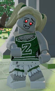 LEGO Worlds Zombie Cheerleader