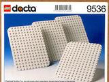 9536 White DUPLO Baseplates