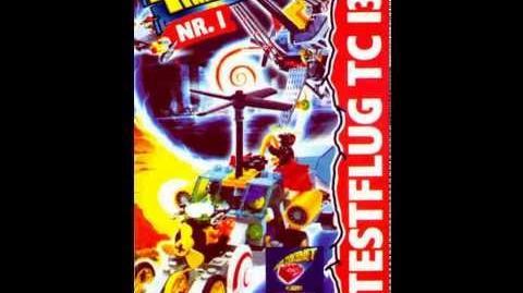 LEGO Time Cruisers 1 Testflug TC 13-0