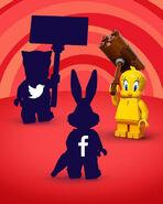 71030 Minifigures Série Looney Tunes Instagram 2