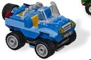 Blue Mini Jeep