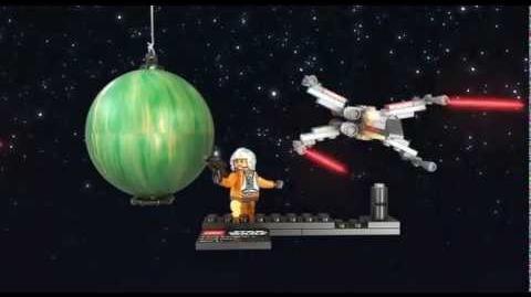 LEGO STAR WARS - X-wing Starfighter og Yavin 4 9677