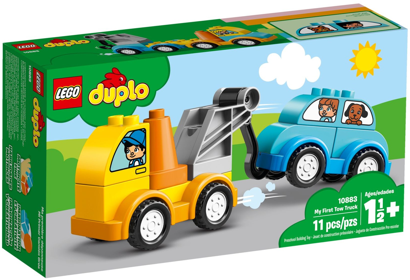 10883 My First Tow Truck