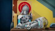 Robot écuyer de Lance
