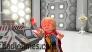 Lego Colin Baker's Tardis